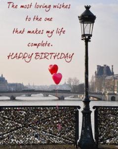 happy birthday images for boyfriend balloon heart love