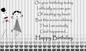 happy birthday wishes for boyfriend greeting card
