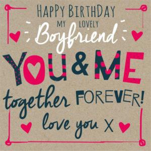 happy birthday greeting card for boyfriend image