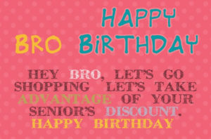 happy birthday brother greeting card HD image