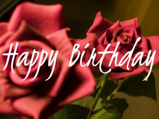 Happy Birthday Brother With Roses Wishes Wallpaper Image