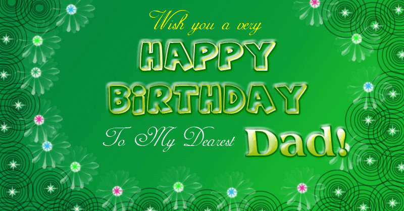 Happy birthday dad wishes cake images greeting card sms quotes happy birthday father greeting card m4hsunfo