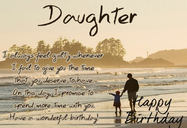 Happy birthday daughter wishes cake images messages quotes happy birthday wishes for daughter from dad love quote image m4hsunfo