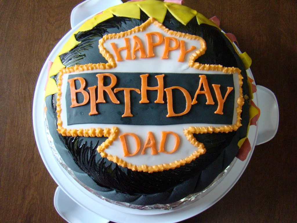 Happy Birthday Dad Wishes Cake Images Greeting Card Sms Quotes