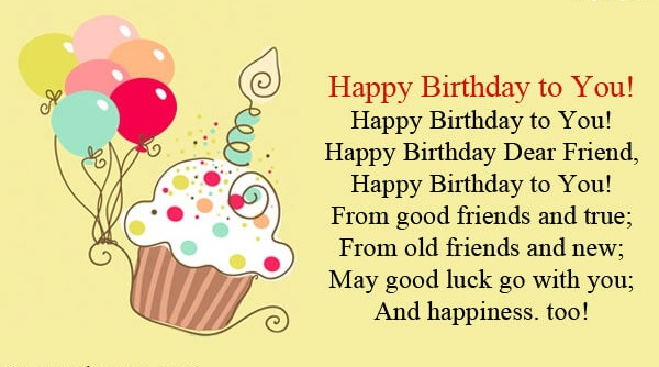 Happy birthday friend wishes quotes cake images messages the happy birthday wishes for friend with cake balloon images m4hsunfo