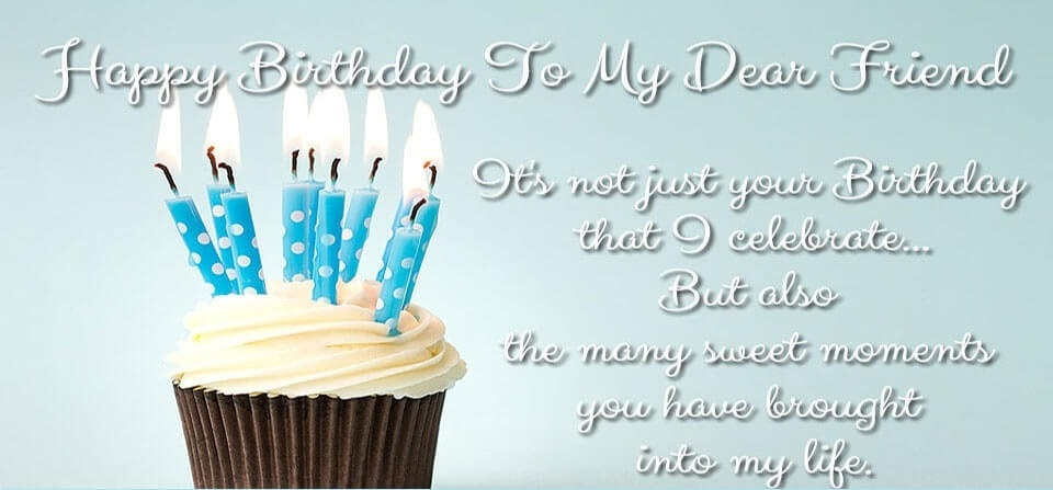 Happy Birthday Friend Wishes Quotes Cake Images Messages The