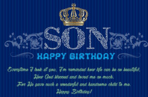 Happy Birthday Son : Wishes, Cake Images, Messages, Quotes