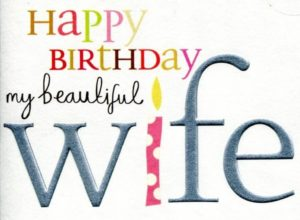 happy birthday wishes for wife greeting cards