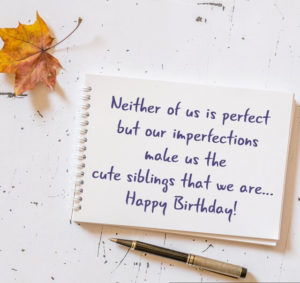 Happy Birthday Siblings Wishes