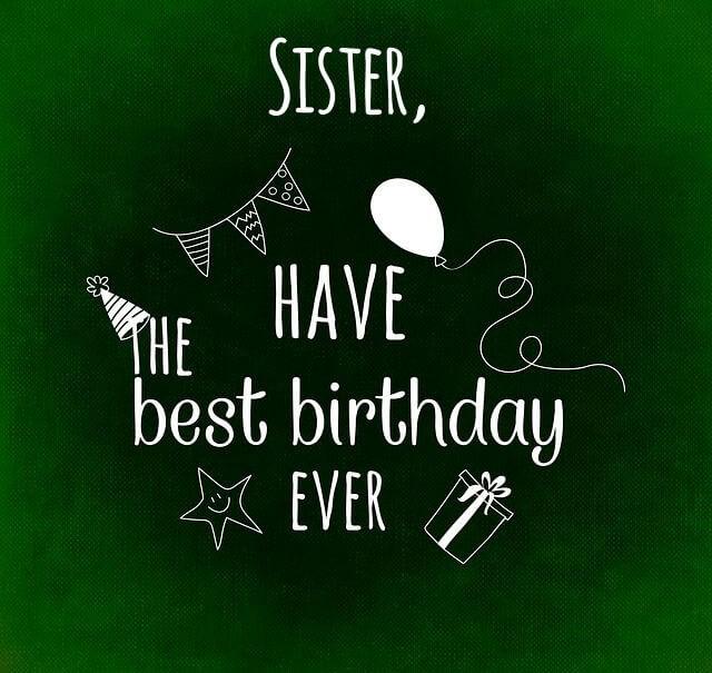 Happy Birthday Celebration for Sister