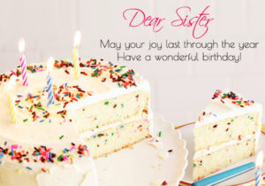 Happy Birthday Sister : Wishes, Messages, Cake Images, Quotes