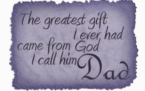 Happy Birthday Wishes for Greatest Father