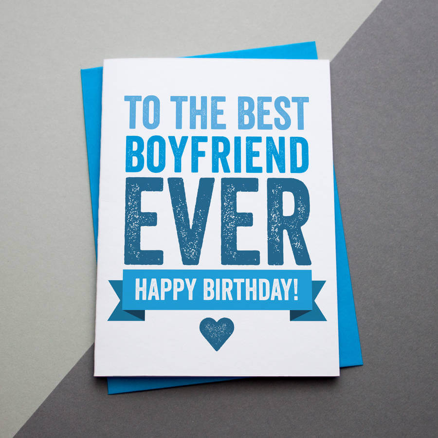 Happy Birthday Wishes for Best Boyfriend