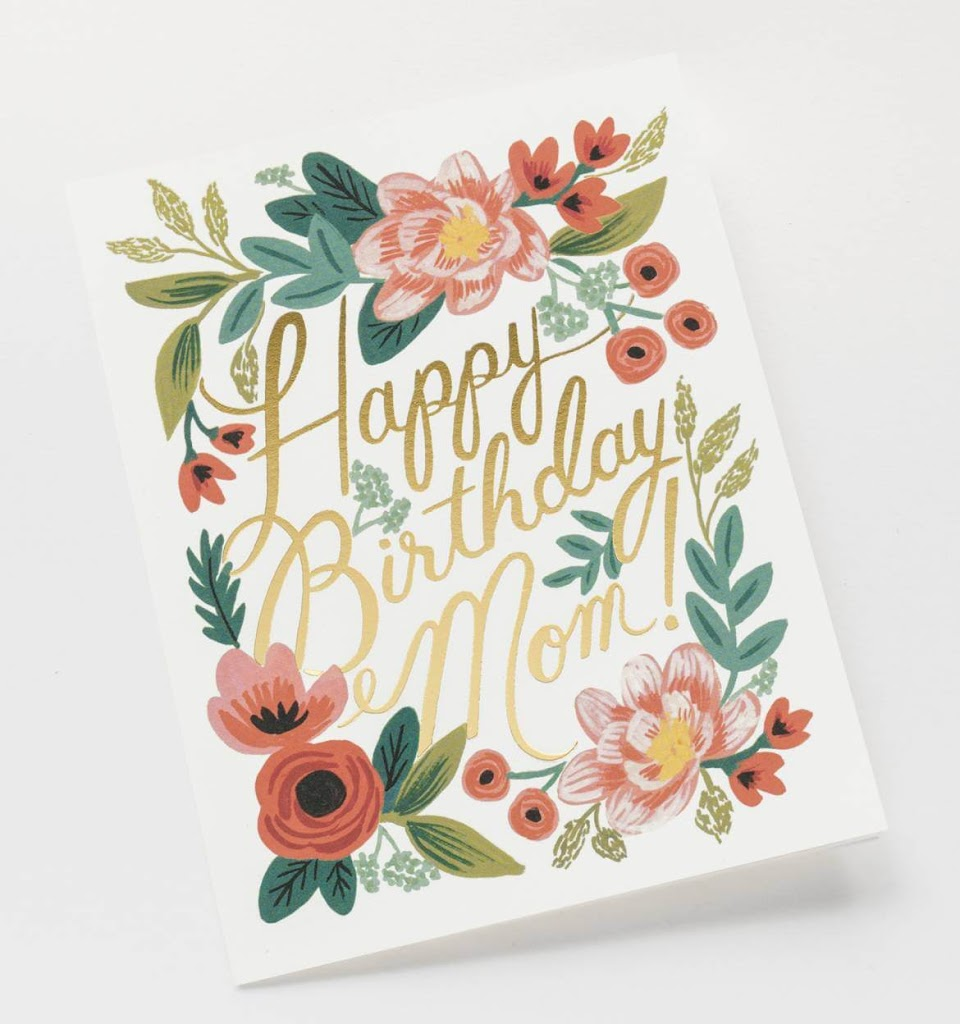 Happy Birthday Greeting Card Messages for Mom