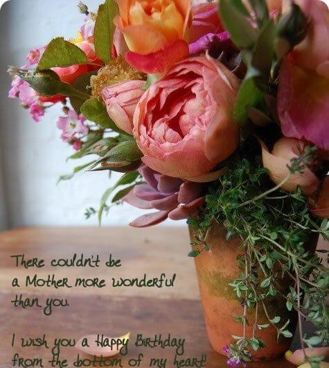 Happy Birthday Poetry Wish Mom