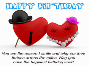 Happy Birthday Greetings for Boyfriend