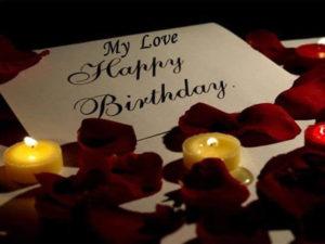 Happy Birthday Romantic Wishes for Boyfriend
