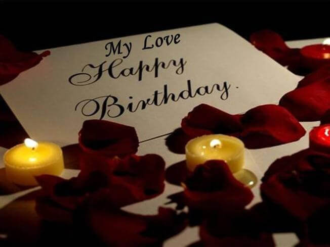 Happy Birthday Romantic Wishes for Boyfriend