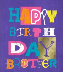 Happy Birthday Bother Cards