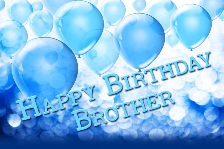 Happy Birthday Party Wishes for Brother