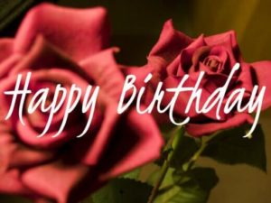 happy birthday brother with roses wishes wallpaper, image
