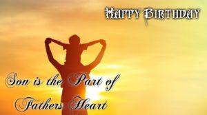 Happy Birthday Wish Facebook Status for Dad