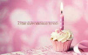 Happy Birthday Pudding Wish for Dad