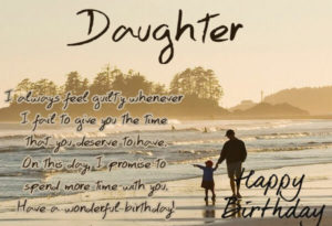 happy birthday wishes for daughter from dad love quote image