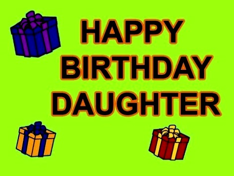 Happy Birthday gifts for Daughter