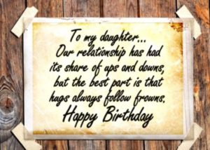 happy birthday wishes for daughter love bond