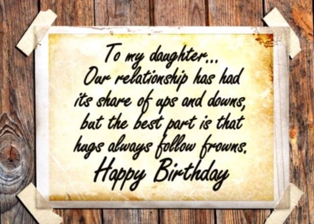 Happy Birthday Greetings for Daughter