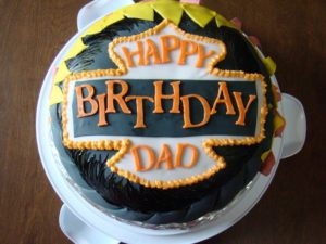 Happy Birthday Cake Wish for Dad