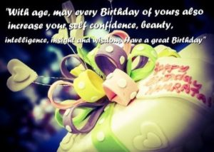 Happy Birthday quotes for Friend with cake image