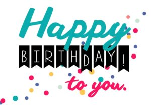 happy birthday girlfriend greeting card HD