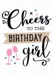 happy birthday girlfriend celebration image, photo card
