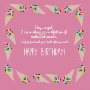 happy birthday wishes images for girlfriend greeting card