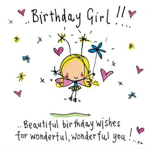 Happy Birthday Wishes to Beautiful Girl