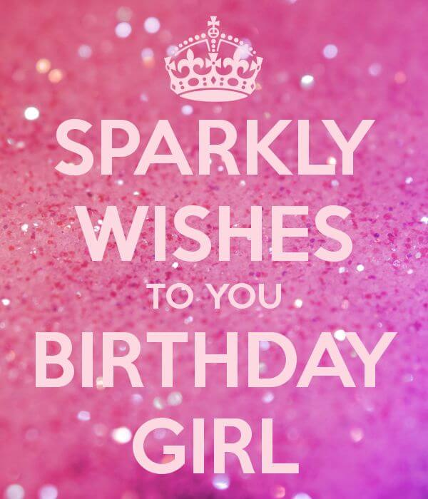 Happy Birthday Greeting Card for Girlfriend