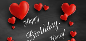 happy birthday honey husband love heart image, photo