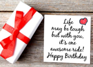 happy birthday husband greeting card, gift, quote image