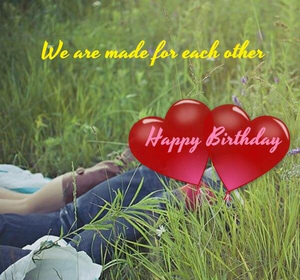 Happy Birthday Romantic Wishes for Husband