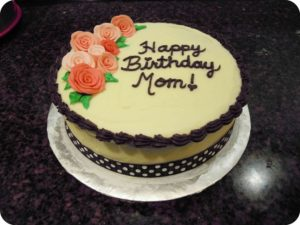 Happy Birthday Mom cake images, photos, pictures, wallpapers