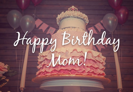 Happy Birthday Barbie Cake for Mom