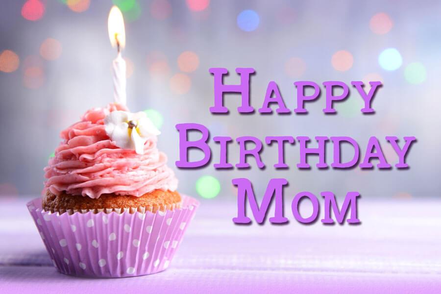 Happy Birthday Pudding Wishes Mom