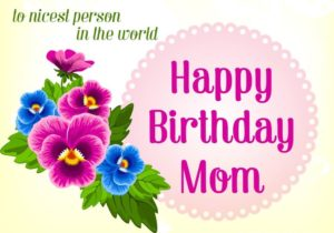 Happy Birthday Mom greeting cards HD