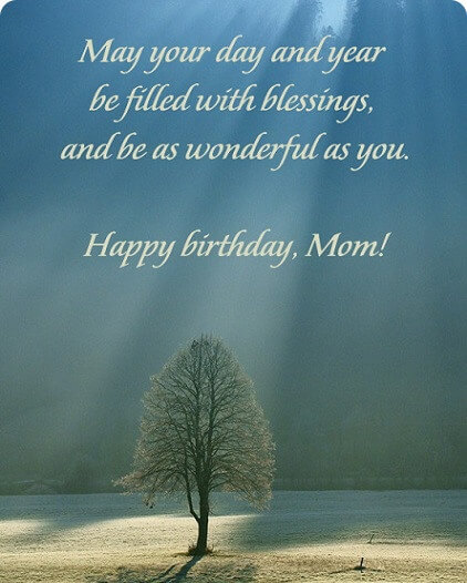 Happy Birthday Quotes Mom