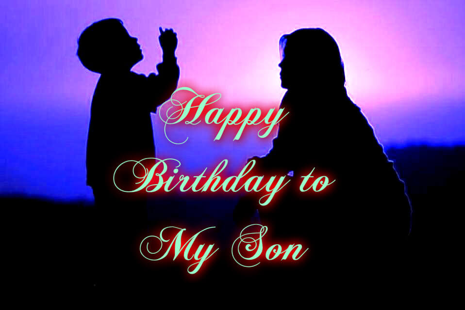 Happy Birthday Childhood Wishes for Son