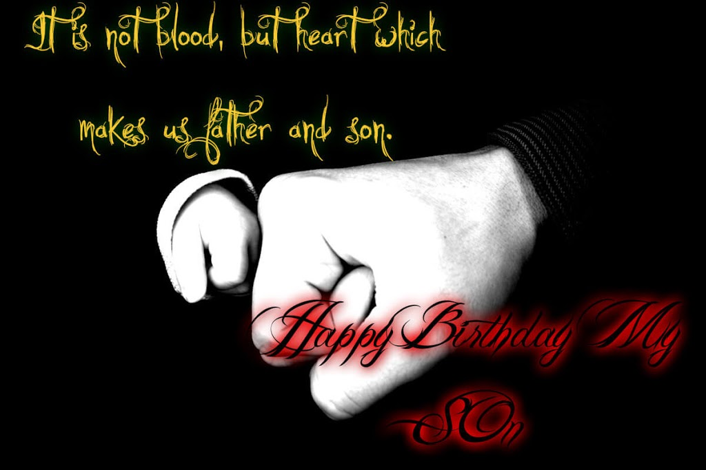 Happy Birthday Chill Wishes for Son