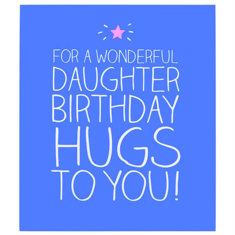 Happy Birthday Gift Cards for Daughter
