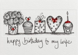 happy birthday wishes for wife cake gift image, wallpaper, greeting cards